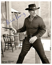 HAVE GUN WILL TRAVEL 1950's Hit Western TV Series Photograph Autograph 8x10