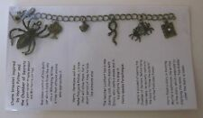 1 Antique bronze charm bracelet inspired by Harry Potter Chamber of Secrets Set1