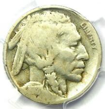 1918/7-D Buffalo Nickel 5C - Certified PCGS G4 - Rare Overdate Variety Coin!