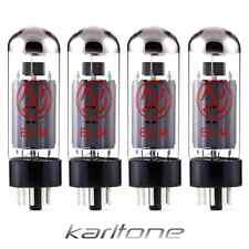 JJ EL34 Valves (Tubes) for amp  (Platinum Matched)  QUAD  Burned In