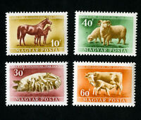 Hungary Stamps # 929-32 XF OG NH