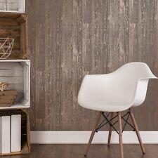 Cuivre Bois Marron Papier peint Mezzanine En Panneaux Design Shabby Chic FD41959