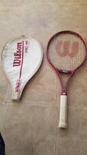 vintagewilson pro 110 tennis racquet high beam series with beta gel 4 5/8 grip