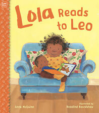 Lola Reads to Leo by Anna McQuinn (Paperback) FREE shipping $35
