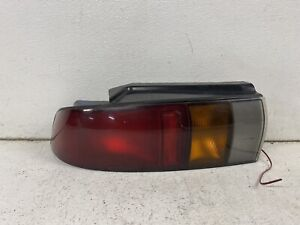 1991-1992 Geo Storm hatchback left driver taillight tail light lamp FLAWS oe