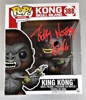 """TERRY NOTARY """"KING KONG"""" SIGNED SKULL ISLAND FUNKO VINYL POP COA J2"""