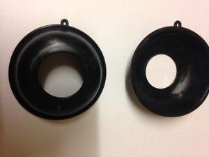 2 X Diaphragme Carburateur Membrane Pour Honda VT 800 C Shadow Keihin Carburant