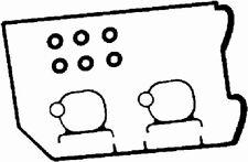 DERECHO Tapa de Balancín Caja Alzaválvulas Juego de juntas apto subaru ca8821