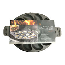 Oyster Grill Pan - Cast Iron