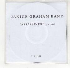 (GJ203) Janice Graham Band, Assassiner - DJ CD