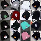 Unisex Men's Women's Hat Warm Winter Cotton Knit Cap Hip-hop Skull Beanie Hats