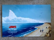 Jaws Phantom City Creative PCC Mondo Regular Poster Print Art Spielberg Kastel