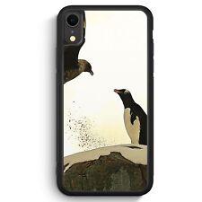 Pinguin & Vogel iPhone XR SILIKON Hülle Cover Tiere Schön Süß Handyhülle Schu...