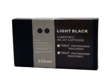 InkOwl 220ml LIGHT BLACK Compatible Cartridge for EPSON Stylus Pro 7800 9800