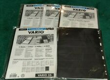 Lot 5 Packs VARIO Stock Stamp Pages 8S 6S 5S 4S 7S NOS 25 Total Sheets