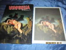 VAMPIRELLA  Classics # 1 , COMIC  Buch  mit DRUCK , limitiert + numeriert  # 299