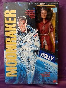🔴🟡🌙 Vintage Mego DR HOLLY GOODHEAD w/ box Moonraker James Bond 1979 🌙🟡🔴