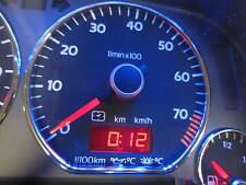 VW Golf 3 GTI 16V Tacho MFA Edition 0-240 Kombiinstrument Blau Rot Weiß LED