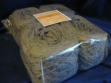 4 x 100g New Balls of 'PEBBLE' Wool 580m Bulk Knitting Weaving Rug Yarn.  7-2770