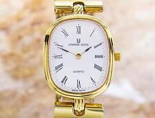 Universal Geneve Swiss Made Ladies Gold Plated Original Dress Watch C2000 Tk8
