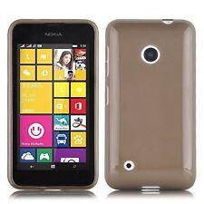 Cover e custodie nero Per Nokia Lumia 530 in pelle sintetica per cellulari e palmari