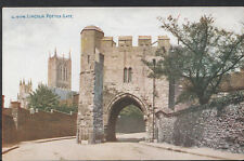 Lincolnshire Postcard - Lincoln Potter Gate  RS3332