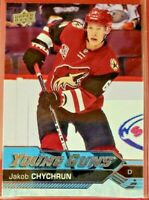 2016-17 Upper Deck YOUNG GUNS #206 Jakob Chychrun RC