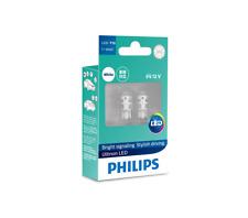 2x Philips LED T10 Bright Stylish Car Interior Light Bulbs ~W5W 6000K 12V 40lm