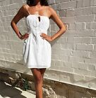 Zimmermann Cotton Dress, White, Size 2, 8, 10, Sold Out Everywhere