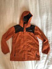 The North Face Rain Jacket, Boys Large, Orange