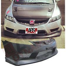 New 2006 11 Honda Civic USDM TYPE R Front Bumper W/ MESH + MUGEN LIP Unpainted