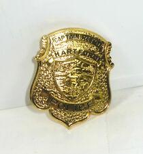 GÖDE Polizeiabzeichen  Hartford Captain Ret'D Police Badge Polizeimarke #31*WR8