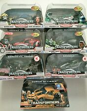 Transformers Human Alliance Dark of the Moon HFTD 7 Figures!  NEW SEALED MINT!!