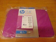 "HP 11.6"" Spectrum Magenta Laptop Notebook Sleeve - K7X20AA"