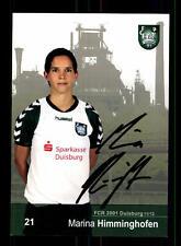Marina Himminghofen Autogrammkarte FCR 2001 Duisburg 2011-12 Original +A 159113