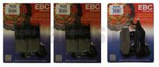Triumph Sprint st 1050 2005-2012 Set EBC Pastillas de Freno Traseras y