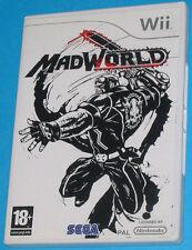 Mad World - MadWorld - Nintendo WII - PAL