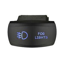 Rocker switch 617SB 12V FOG LIGHTS Horizontal Laser LED blue ON-OFF