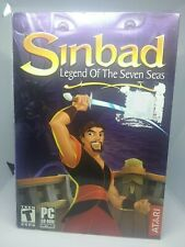 Sinbad: Legend of the Seven Seas - New/Sealed - PC CD, 2003) w/ Free Shipping
