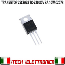 TRANSISTOR 2SC2078 80V 3A 10W 27MHZ C2078 TO-220