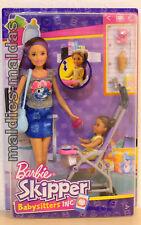 Barbie Skipper Babysitter Inc. Puppen und Kinderwagen FJB00