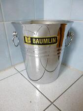 Icebucket french art déco Seau à glaçons  champagne  BAUMLIN        état neuf