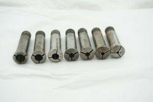 Hercus draw bar , headstock insert and collet set