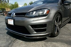 Kescher Carbon Front Spoiler Spliter VW Golf R MK7