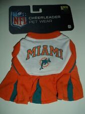 Official NFL Licensed Miami Dolphin Pet Cheerleader Outfit Extra Small NIP