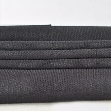 New Audio Speaker Net Cover Dust Transparent Fabric Mesh Cloth <Black> 1.75x0.5m