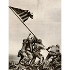 WAR WWII IWO JIMA STARS STRIPES FLAG PROPAGANDA NEW FINE ART PRINT POSTER PICTUR