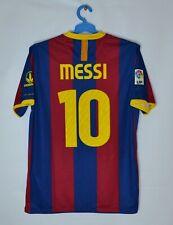 BARCELONA 2010 2011 HOME FOOTBALL SHIRT #10 MESSI SOCCER JERSEY NIKE 382354-486