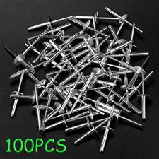 100 Large Flange Aluminum Pop Rivets 316 X 34 Big Head Steel New