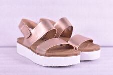 Women's Skechers Summer Rose - Beach Treat Sandals, Rose Gold